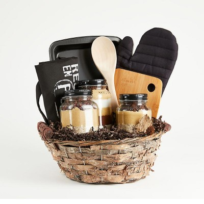 Horn of plenty gift basket